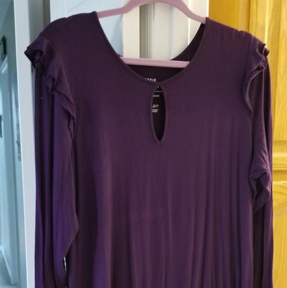 Purple super soft shirt